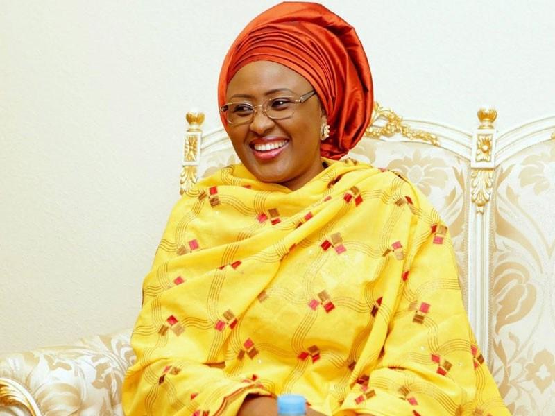 Aisha Buhari leaves for London to see President Buhari