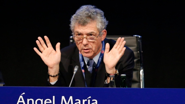 Angel Maria Villar resigns as FIFA & UEFA vice president