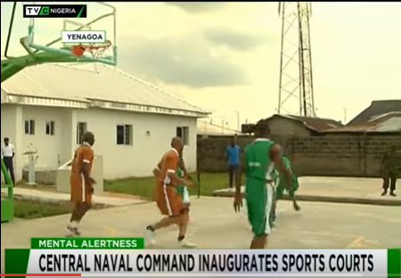 Central Naval Command inaugurates Sports Courts