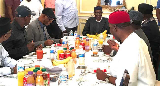 Seven governors to visit President Buhari in London