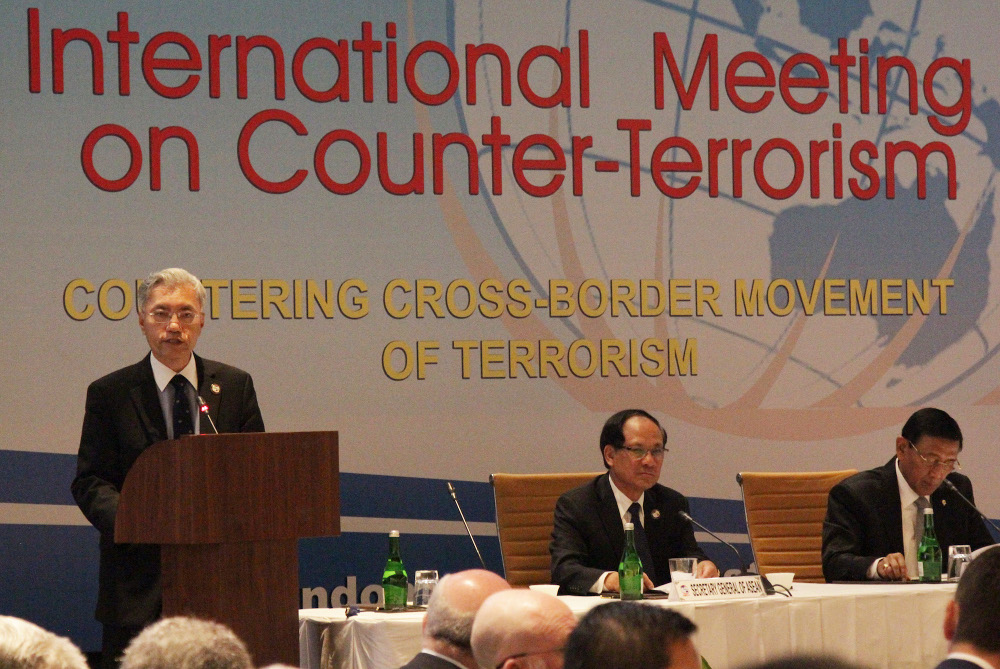 Southeast Asian countries, others commit to counter-terrorism cooperation