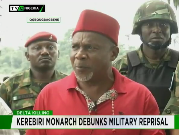 Delta killings: Kerebiri monarch debunks reprisal attacks by military
