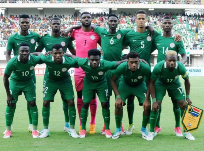 Nigeria drop one place to 39th in the world