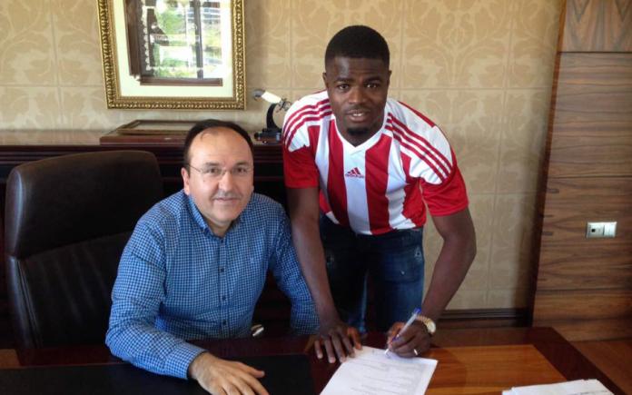 Echiejile joins Sivasspor on one-year loan deal