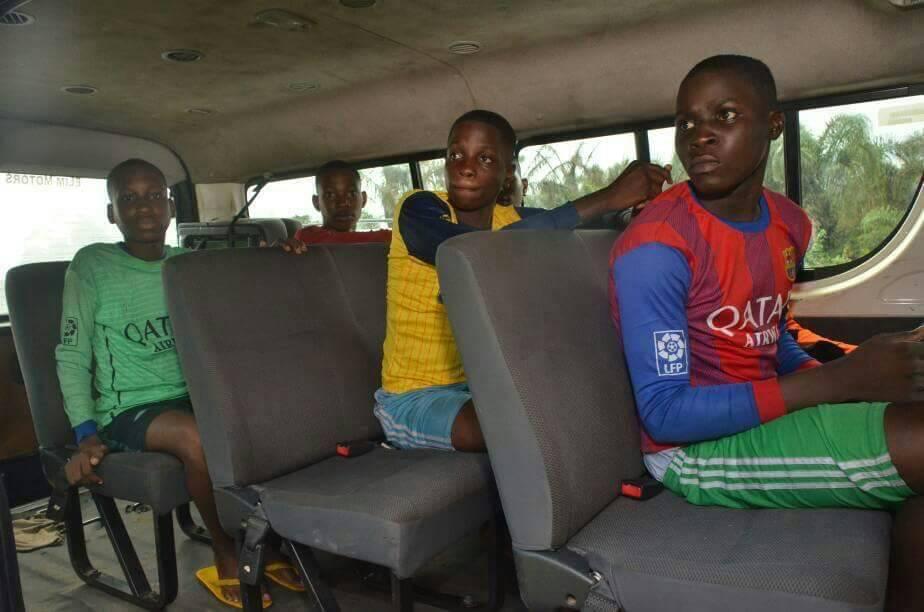 UPDATE : Six kidnapped students of Igbonla Model school regain freedom