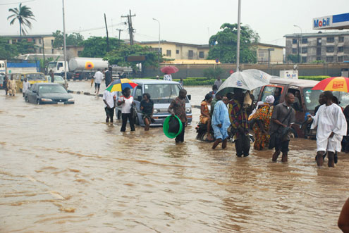 Flooding: Lagos state govt says situation under control