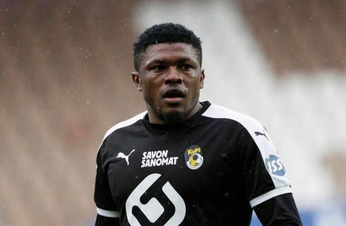 Finland FA bans Nigeria's Salami for 6 matches
