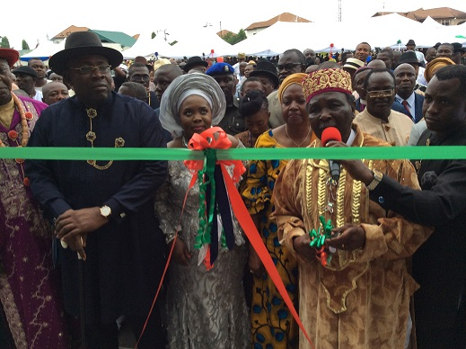 Gowon inaugurates Bayelsa new Govt Office Complex