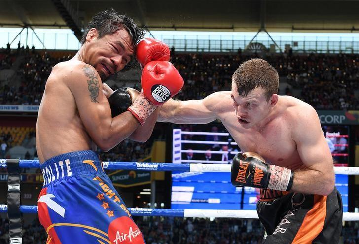 Jeff Horn stuns Manny Pacquiao to win WBO Welterweight title