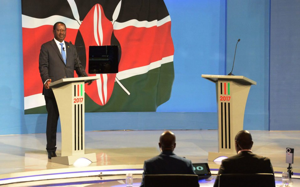 Kenyan President fails to show up for TV Debate