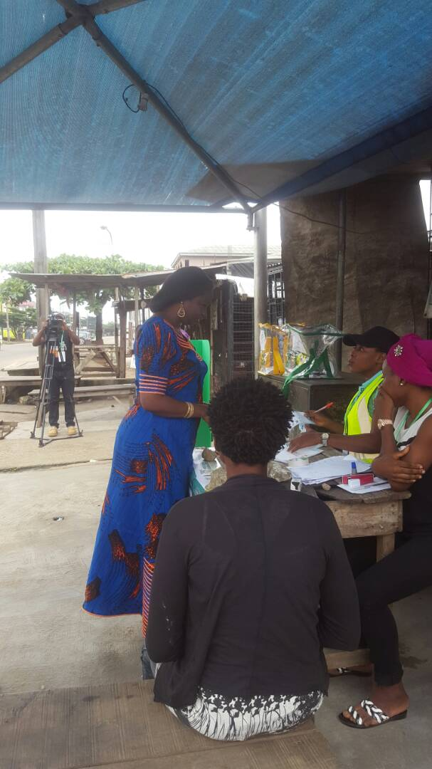Live Pictures and updates from #LagosCouncilElections