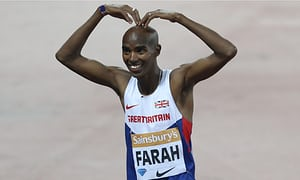 London Anniversary Games: Mo Farah wins 3000m in style