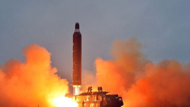 North Korea fires ballistic missile into Japan