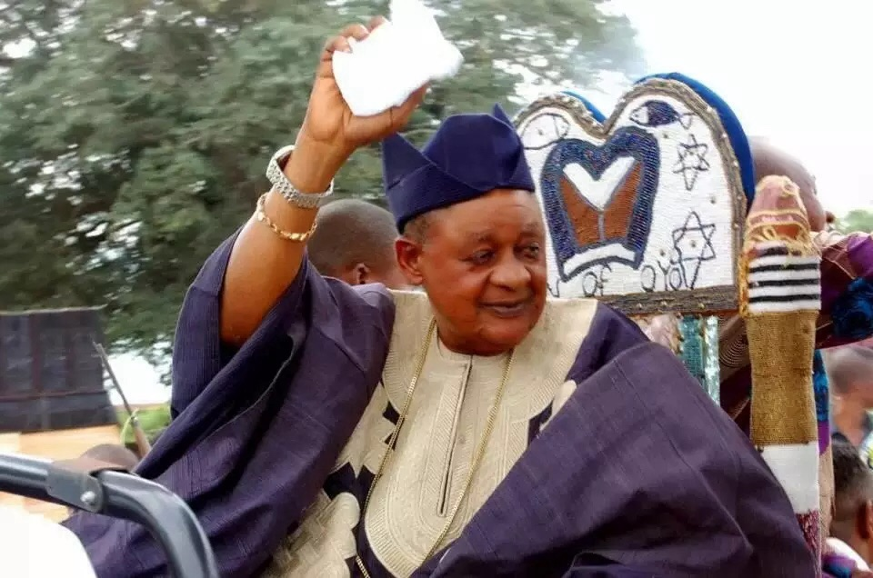 Nigeria must restructure, says Alaafin of Oyo Oba Adeyemi II