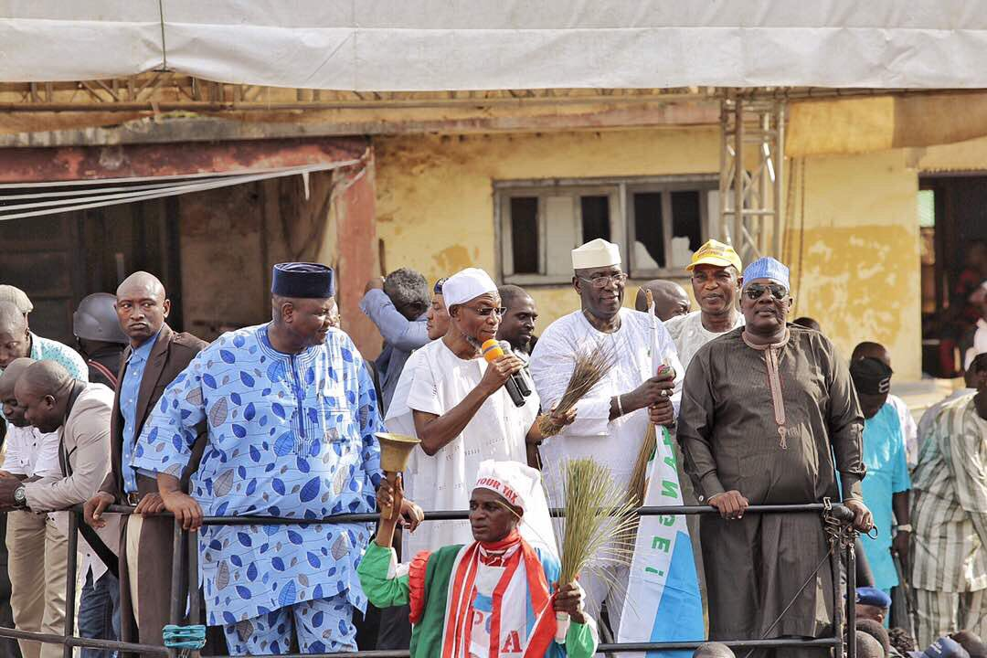 Osun West by-election : Political parties sign peace accord