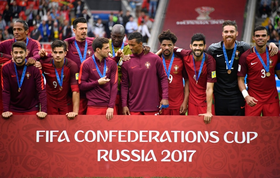 Portugal win Bronze at FIFA Confederations Cup
