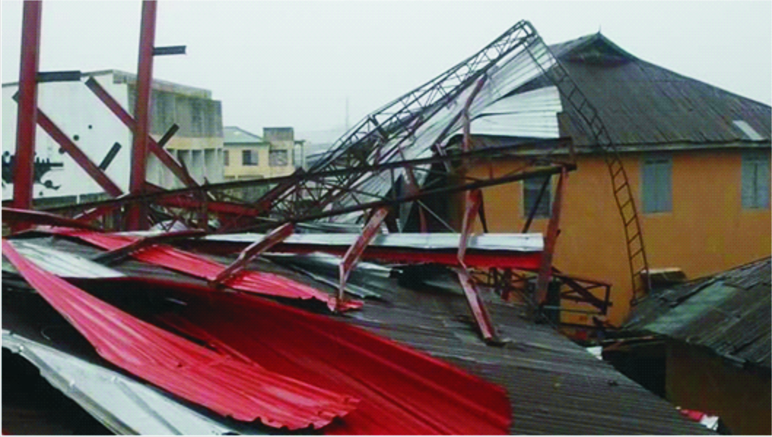 Heavy rains affect houses, electricity poles in Ondo