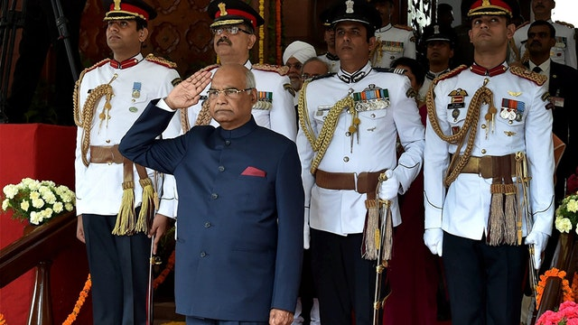 71 year-old Kovind sworn-in as Indian's 14th President