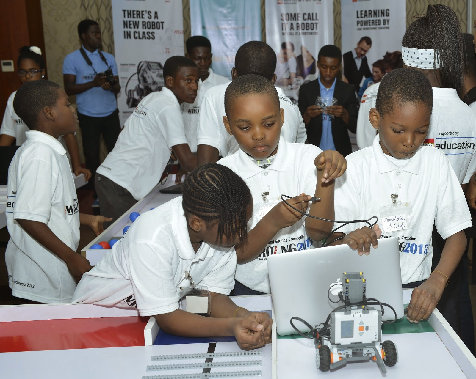 Robotic Olympiad : FG urged to invest in science and technology