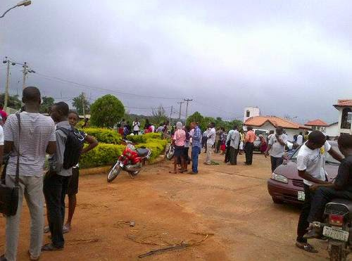 Ondo students protest over ASUP strike