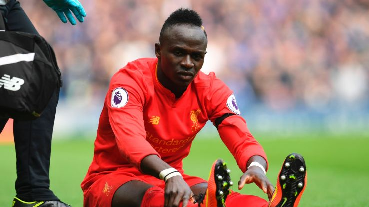Liverpool's Mane set to resume training after surgery