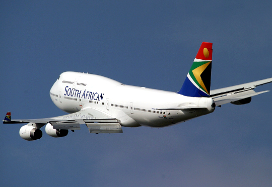 South African government bails national carrier from debts