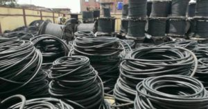 Customs intercepts 20ft container loaded with fake cables