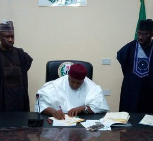 Taraba governor signs Anti-Open Grazing law
