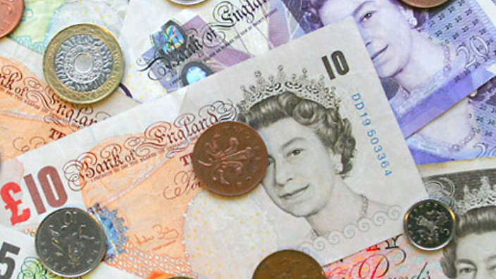 U.K's inflation rate drops to 2.6 pct