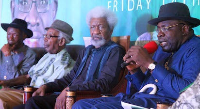 Gov. Dickson names Soyinka Bayelsa's Honourary Education Ambassador