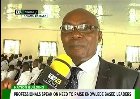 Professionals speak on need to raise knowledge based leaders