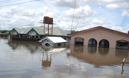 Floods damage homes, stalls, water pipe in Suleja