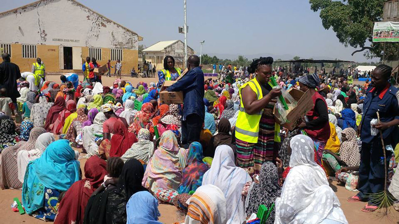 Mambillla clashes : FG storms Taraba with 12 trailers of relief items