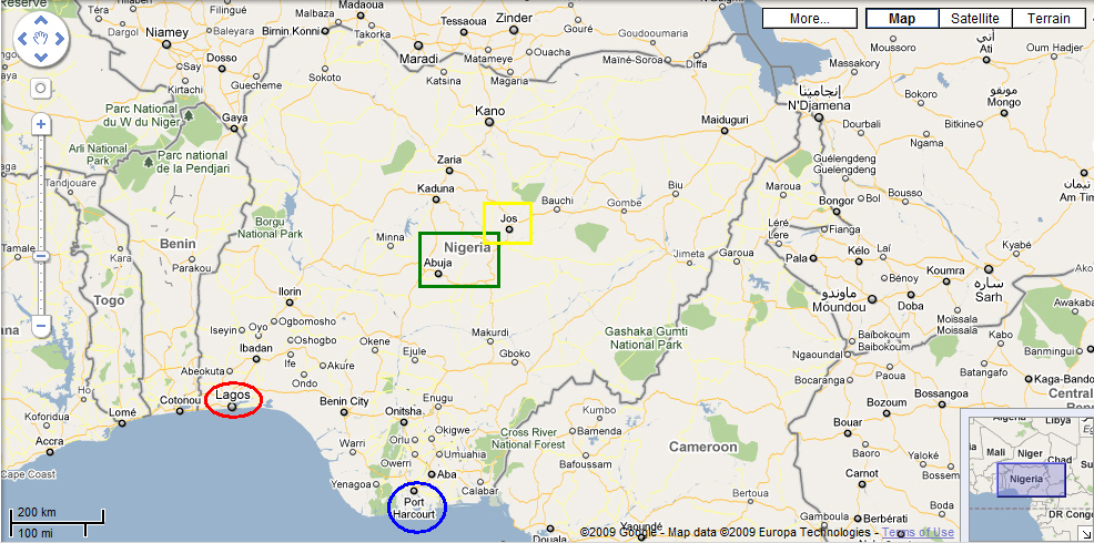 Internet users in Nigeria get improved Google map