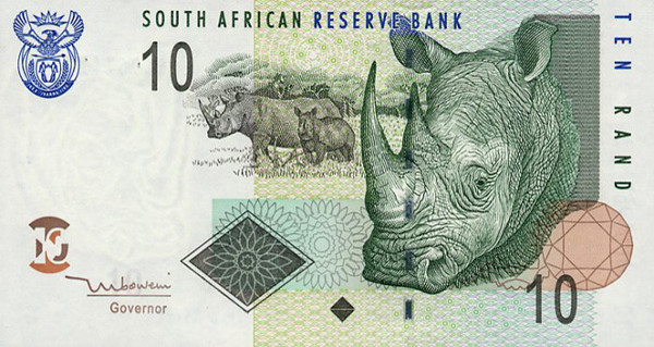 South Africa's Rand in higher value after interest rate cut