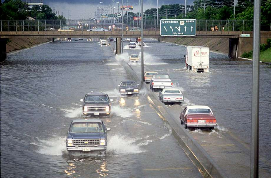 Houston crippled by catastrophic flooding, with more rain on the way