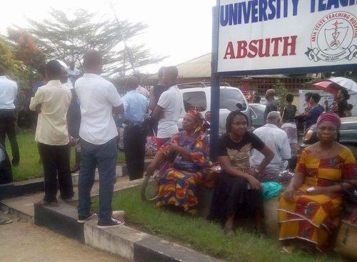 ABSUTH Workers Threaten Strike Over Unpaid 8 Months' Salaries
