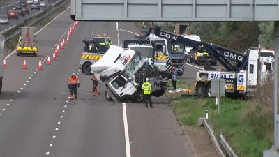 Eight killed in Minibus, Lorry collision in Milton Keynes