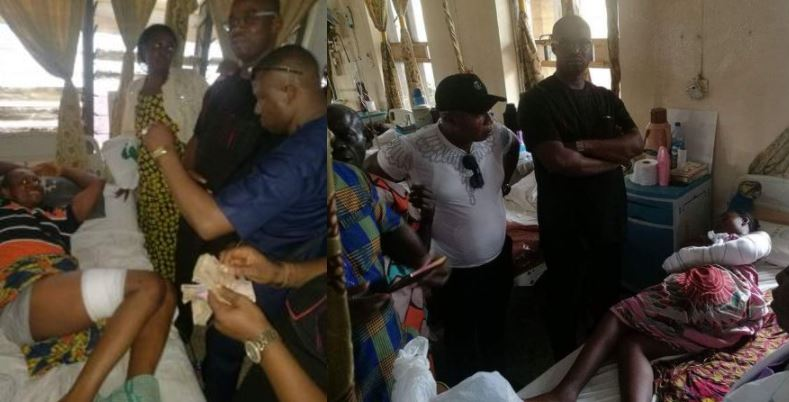 Anambra Church Attack: Alleged target, 'Bishop', visits victims with money