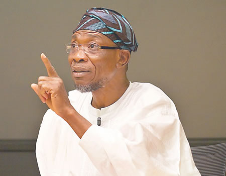 Aregbesola commends NYSC Scheme's contribution to national devt