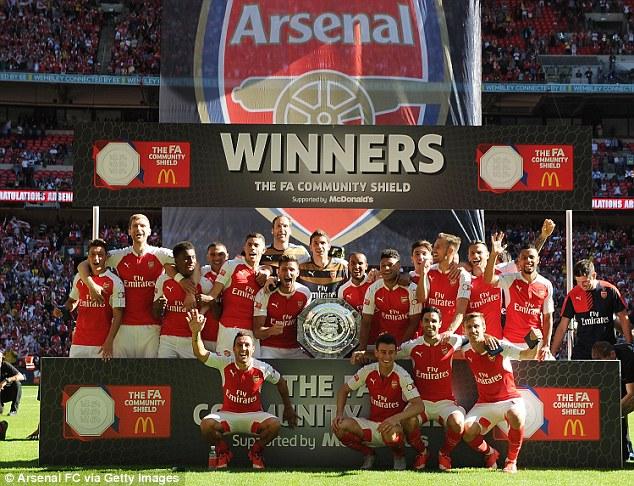 Chelsea succumb to Arsenal in FA Community Shield