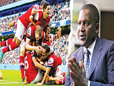 I would sack Arsene Wenger right away if I bought Arsenal – Aliko Dangote