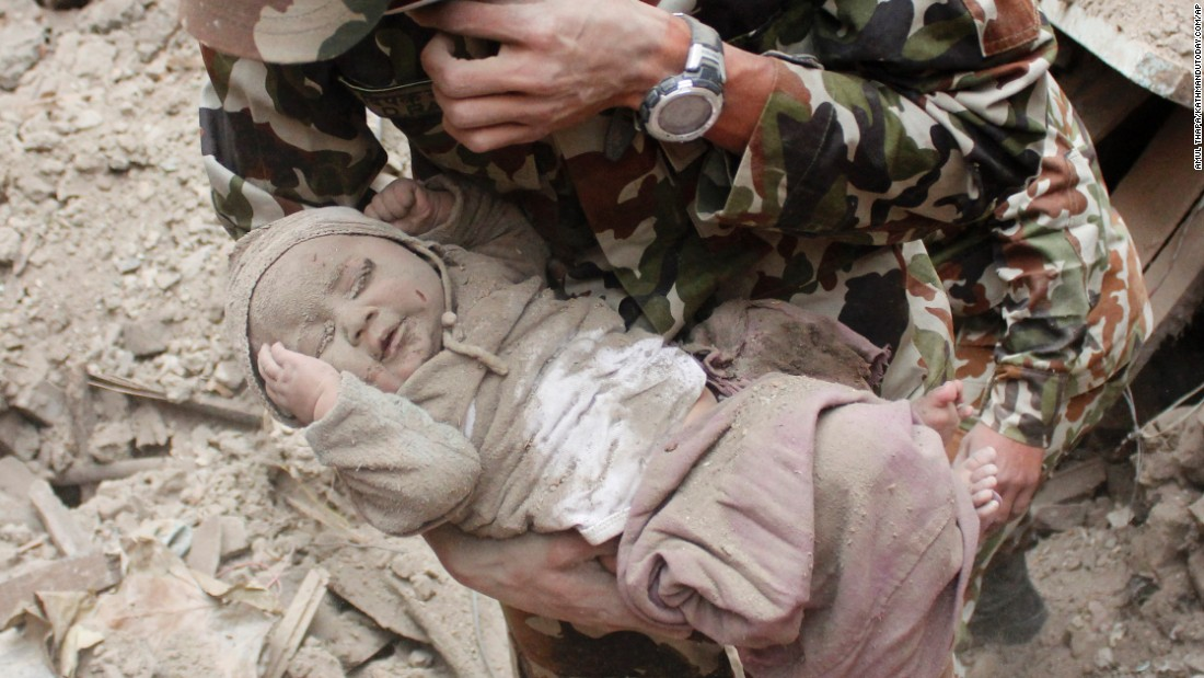 Baby rescued from rubble, fire Brigade says it's a 'miracle'