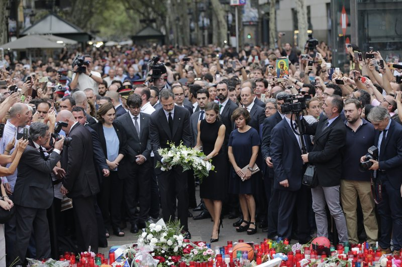 Barcelona Van Attack: Religious groups held ceremony in memory of victims