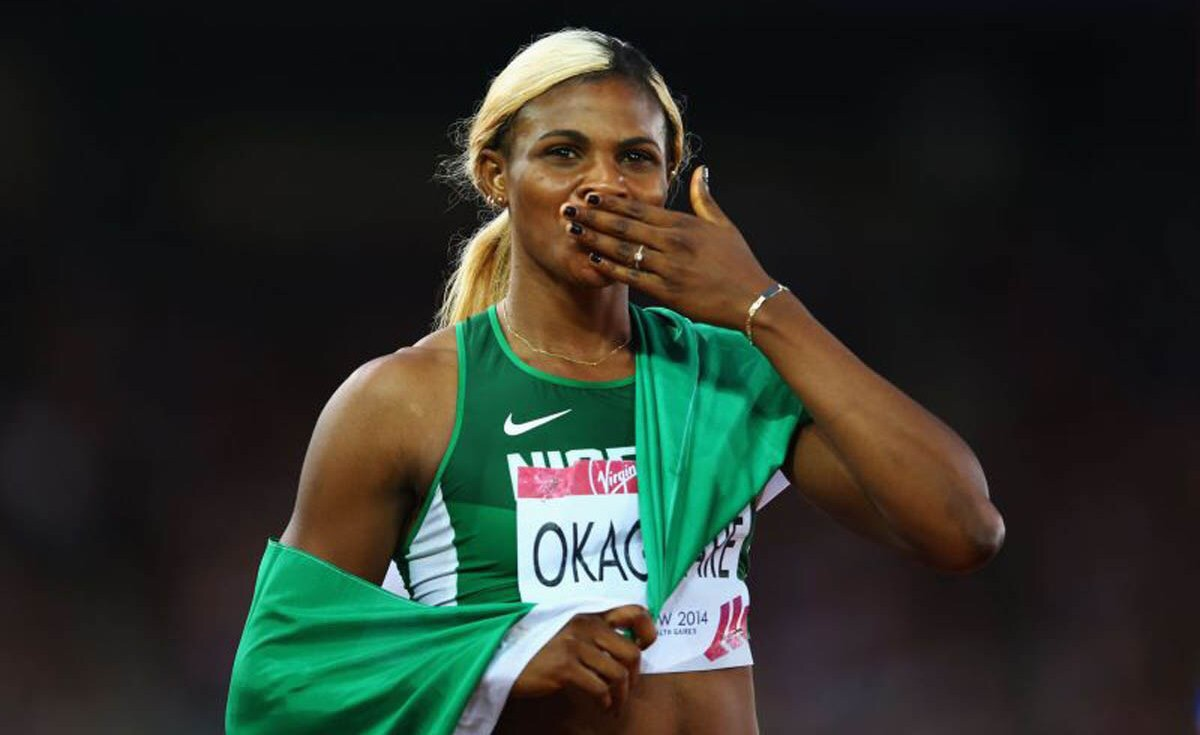 2017 W'Athletics Championship: Okagbare finishes 2nd in heat, reaches semi-final