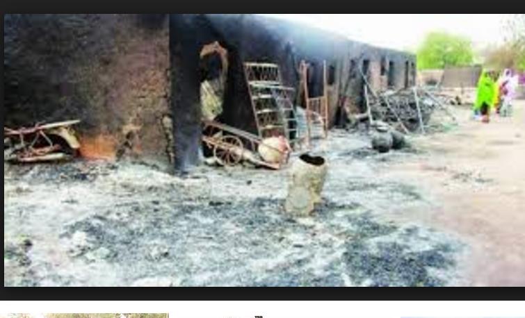3 killed, 150 homes razed in Boko Haram raid in Borno