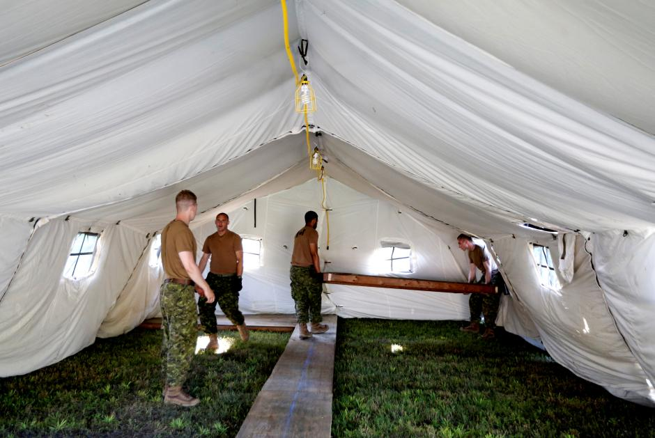 Canada sets up border camp as number of Asylum seekers swell