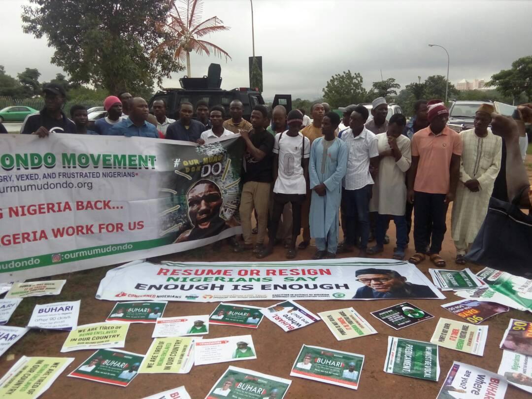 Group demands President Buhari's return or resignation