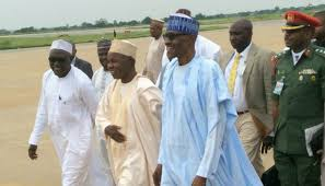 Buhari arrives Daura for Eid-El-Kabir celebration