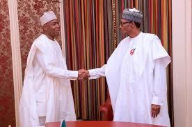 "Saraki welcomes President Buhari, says ""The Good Work Continues"""
